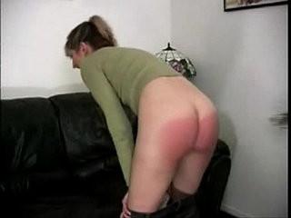 Gia hard spanking