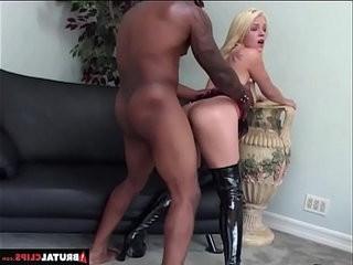 BrutalClips Blondie Gets Anal Punishment
