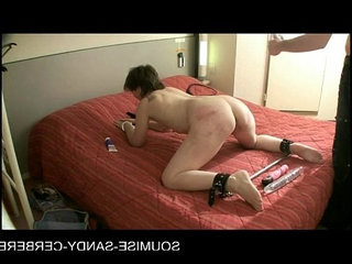 French anal dildo and fisting