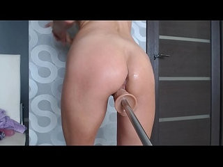 Fucking Machine brought to Female Orgasm Masturabtion Teen Pussy