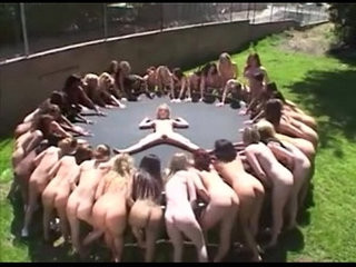 Lesbian piss and squirt party