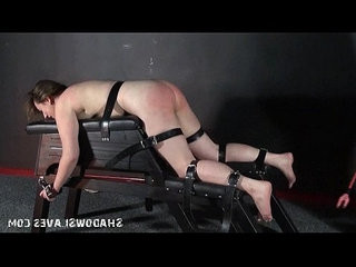 Cattleprod electro bdsm hardcore bondage of tortured slaveslut in ex