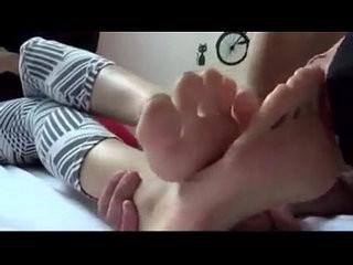 Korean foot worship