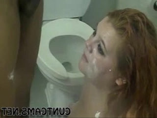 Young bbw facefucked by landlord